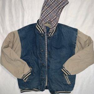Vintage | Flannel Jean Jacket